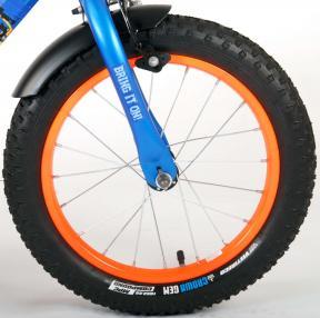 NERF Rower dziecięcy - Chłopcy - 16 cali - Satin Blue