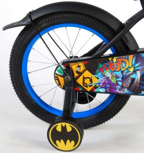 Batman Rower dziecięcy - Chłopcy - 16 cali - Czarny