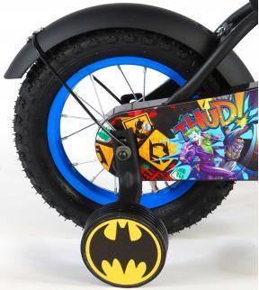 Batman Rower dziecięcy - Chłopcy - 12 cali - Czarny