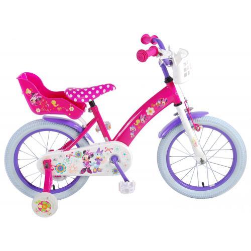 Rower dziecięcy Disney Minnie Bow-Tique - Dziewczęce - 16 cali - Różowy