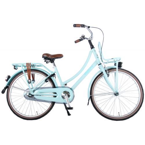Rower dla dzieci Volare Excellent - Dziewczęce - 24 cale - Mint Blue - 95% zmontowane