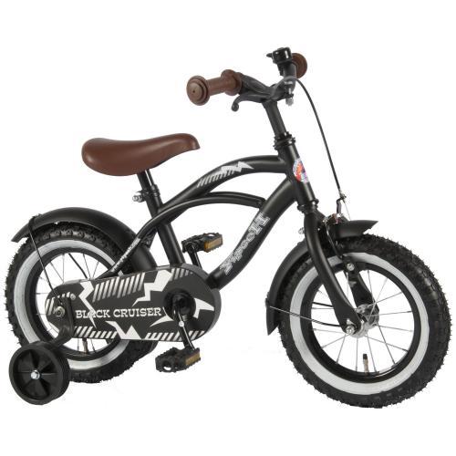 Yipeeh Black Cruiser rower chłopięcy 12 cali