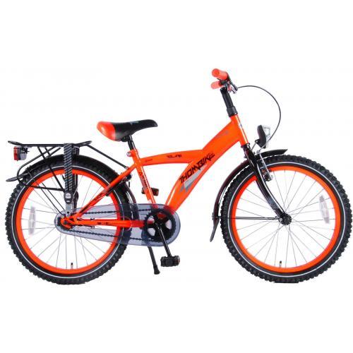 Volare Thombike City Rower dziecięcy - Chłopcy - 20 cali - Neonowy Pomarańczowy - 95% zmontowane