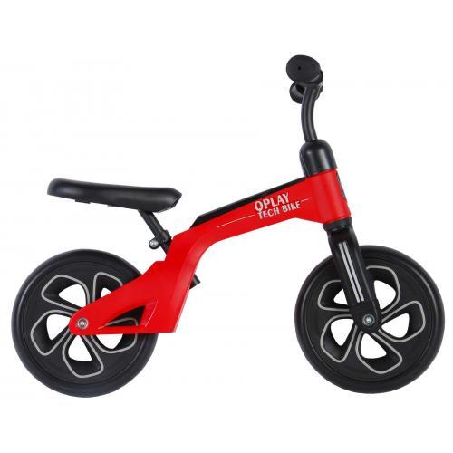 QPlay Tech - Rower równowagi- chłopcy i dziewczęta - 10 cali - czerwony