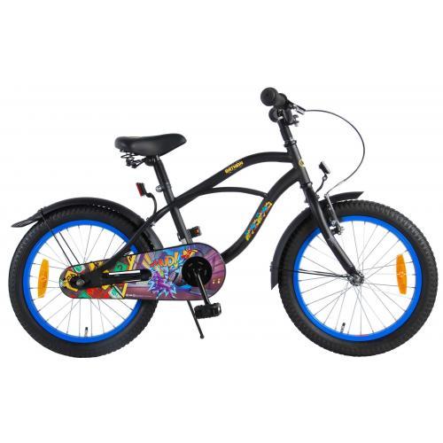 Batman Rower dziecięcy - Chłopcy - 18 cali - Czarny