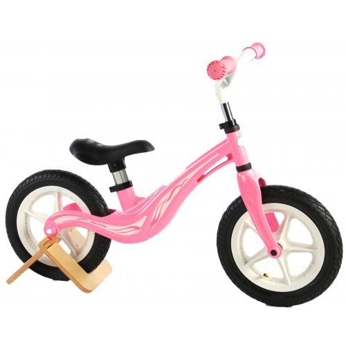 Volare Magnesium Balance Bike - Dziewczęce - 12 cali - Różowy