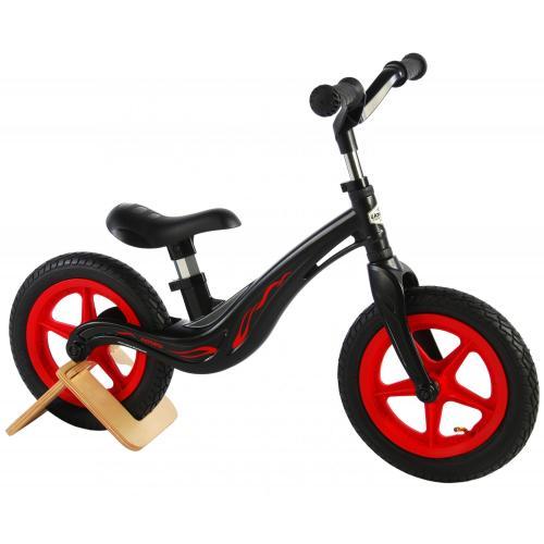 Volare Magnesium rower równowagi - Chłopcy i dziewczęta - 12 cali - czarny