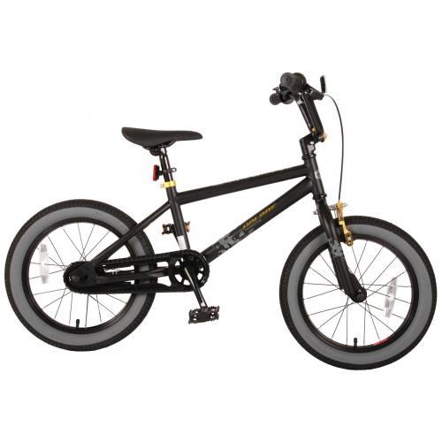 Rower dziecięcy Volare Cool Rider - Chłopcy - 16 cali - Czarny - 95% zmontowane