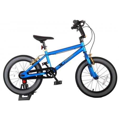 Rower dziecięcy Volare Cool Rider - Chłopcy - 16 cali - niebieski - dwa hamulce ręczne - zmontowane w 95%