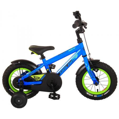 Volare Rocky Rower dziecięcy - Chłopcy - 12 cali - Niebieski - 95% zmontowane