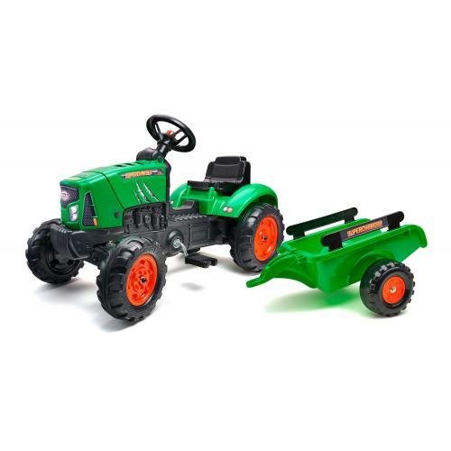 Falk Supercharger Zielony - Ciągnik - chłopiec