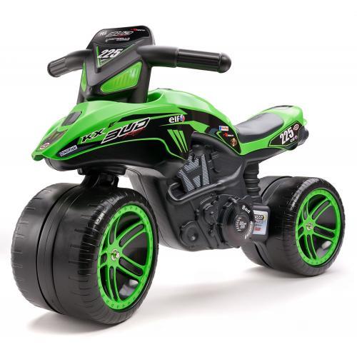 Falk Kawasaki Bud Racing Team Motor - zielony - chłopcy - rower treningowy