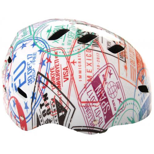 Kask Volare Bike/Skate - Travel the World - 55-57 cm