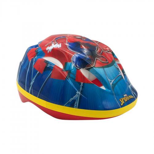 Kask rowerowy Marvel Spiderman - Niebieski czerwony - 51 - 55 cm