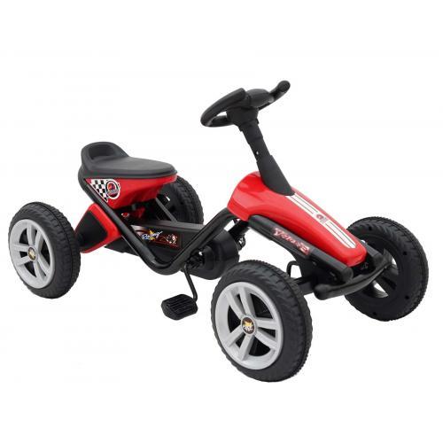 Volare Mini Go Kart - Chłopcy i dziewczęta - Czerwony