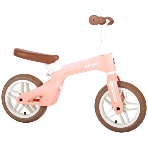 Volare rower równowagi - chłopaki i dziewczyny - 10 calowy - różowy