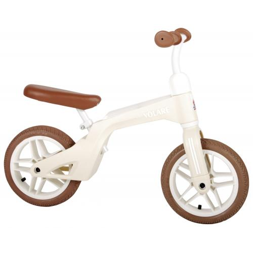 Volare rower równowagi - chłopaki i dziewczyny - 10 calowy - kremowy