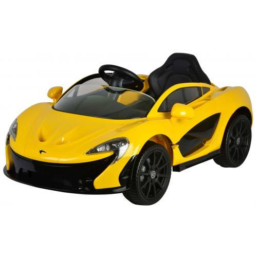 McLaren P1 - Żółty - Samochód elektryczny z pilotem zdalnego sterowania - 12 Volt