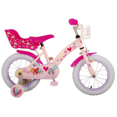 Rower Paw Patrol Kids - Dziewczynki - 14 cali - Różowy