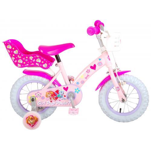 Rower Paw Patrol Kids - Dziewczynki - 12 cali - Różowy