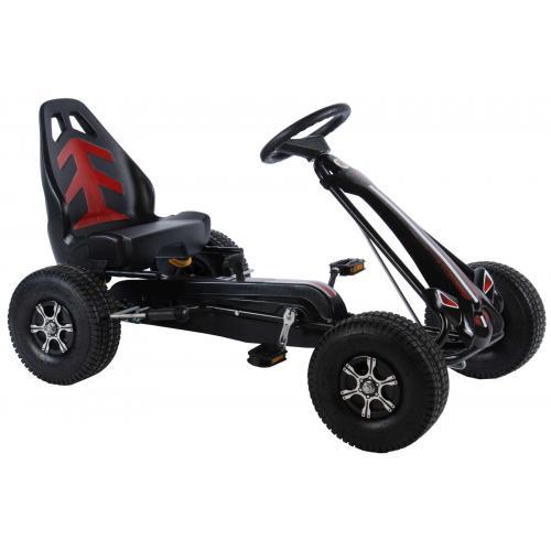 Samochód wyścigowy Volare Go Kart - chłopcy - duże - opony pneumatyczne