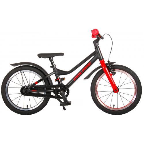 Volare Blaster Rower dziecięcy - Chłopcy - 16 cali - Czarna czerwień - Prime Collection