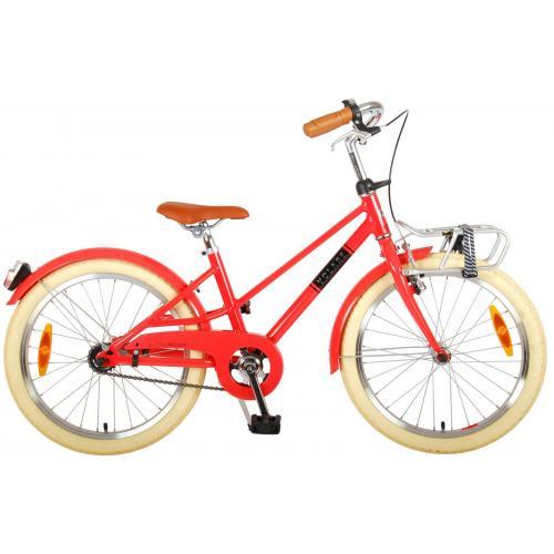 Volare Melody Rower dziecięcy - Dziewczyny - 20 cale - pastelowa czerwień - Prime Collection