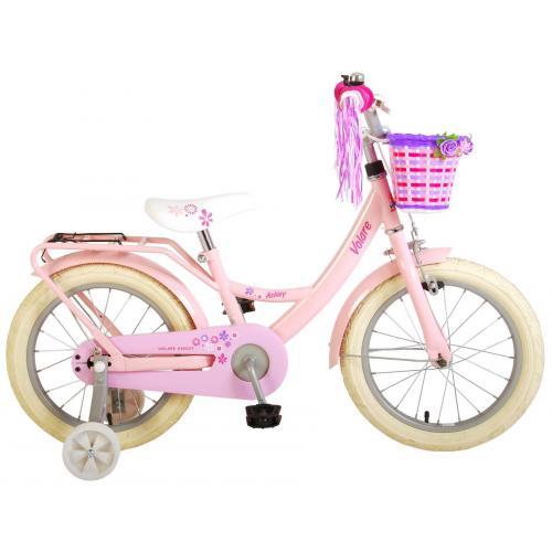 Volare Ashley Rower dziecięcy - Dziewczynki - 16 cali - Różowy - 95% zmontowany