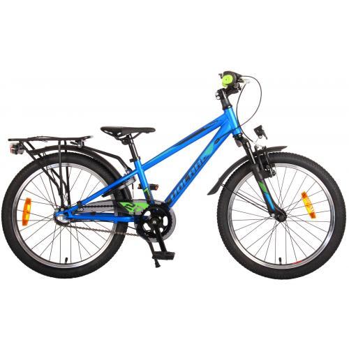 Rower dziecięcy Volare Cross - Chłopcy - 20 cali - Blue Green - Shimano Nexus 3 biegi - Prime Collection