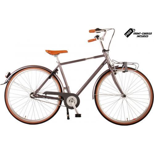 Rower męski Volare Lifestyle - Man - 48 centymetrów - Szary - Shimano Nexus 3 biegi