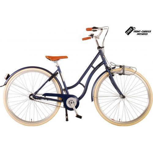 Volare Lifestyle Rower damski - Kobiety - 43 centymetry - jeansy niebieski - Shimano Nexus 3 biegi