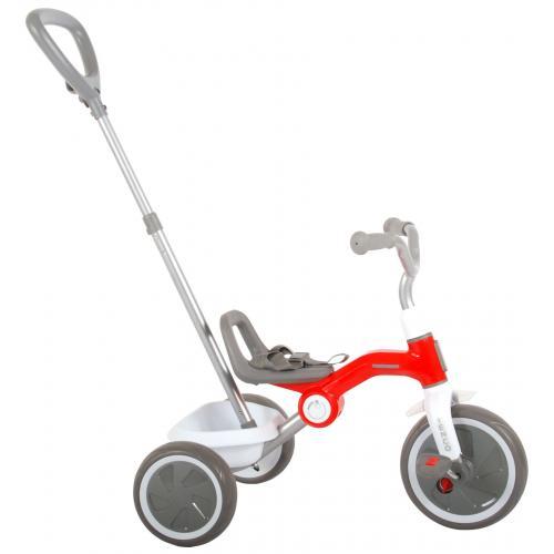 QPlay Rower Trójkołowy Tenco - Chłopcy i dziewczęta - Czerwony