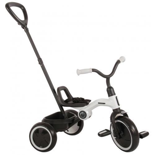 QPlay Rower Trójkołowy Tenco - Chłopcy i dziewczęta - Szary