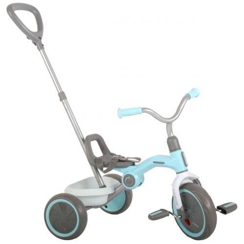 QPlay Rower Trójkołowy Tenco - Chłopcy i dziewczęta - pastelowy błękit