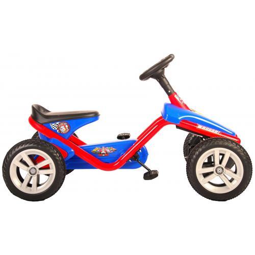 Paw Patrol Go Kart - Mini - Czerwony Niebieski