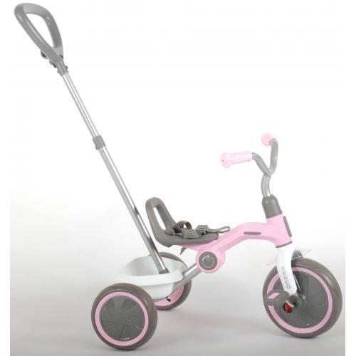 QPlay Rower Trójkołowy Tenco - Chłopcy i dziewczęta - pastelowy róż