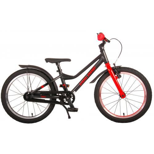 Volare Blaster Rower dziecięcy - Chłopcy - 18 cali - Czarna czerwień - Prime Collection