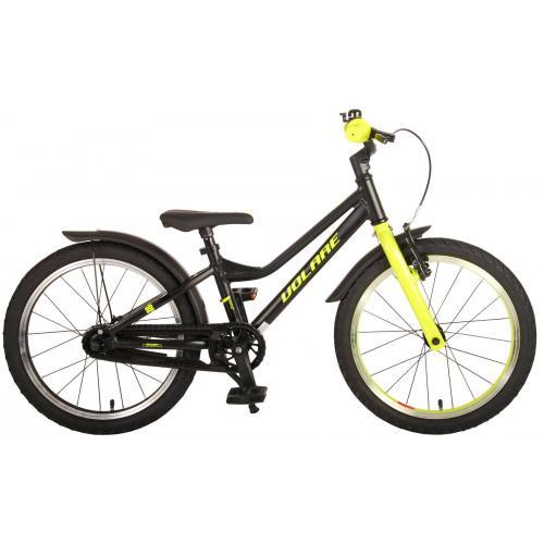 Volare Blaster Rower dziecięcy - Chłopcy - 18 cali - czarny zielony - Prime Collection