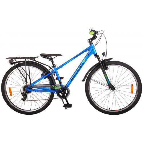 Rower dziecięcy Volare Cross - Chłopcy - 26 cale - Dark Blue - 7 biegów - Prime Collection