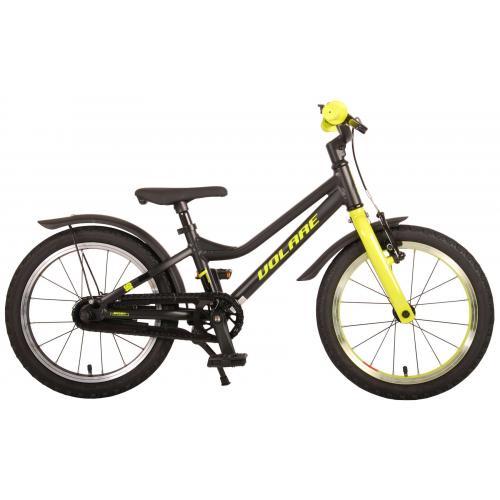 Volare Blaster Rower dziecięcy - Chłopcy - 16 cali - czarny zielony - Prime Collection