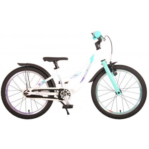 Volare Glamour Rower dziecięcy - Dziewczynki - 18 cali - Pearl Mint Green - Kolekcja Prime