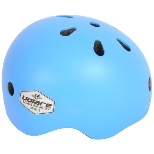 Kask rowerowy Volare - Dzieci - Niebieski - 45-51 cm
