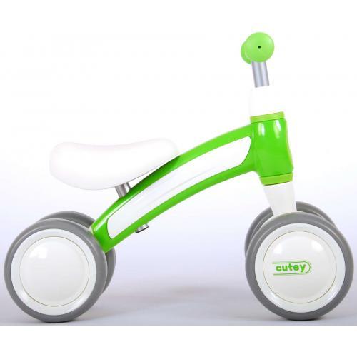 QPlay Cutey Ride On Walking Bike - Chłopcy i dziewczęta - Zielony