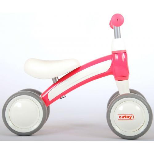 QPlay Cutey Ride On Walking Bike - Chłopcy i dziewczęta - różowy