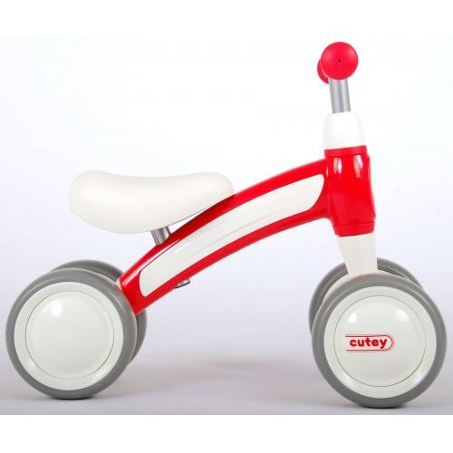 QPlay Cutey Ride On Walking Bike - Chłopcy i dziewczęta - Czerwony