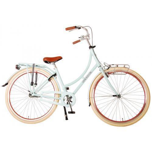 Volare Classic Oma Rower damski - 45 centymetrów - Pastelowy niebieski