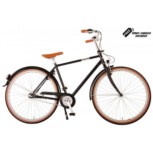 Rower męski Volare Lifestyle - Man - 56 centymetrów - Satyna Czarna - Shimano Nexus 3 biegi