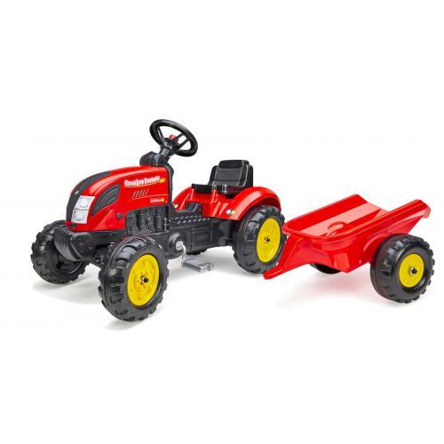 Falk Country Farmer - Chłopcy - Czerwony - Traktor