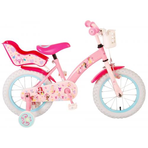 Rower dziecięcy Disney Princess - dziewczęcy - 14 cali - różowy