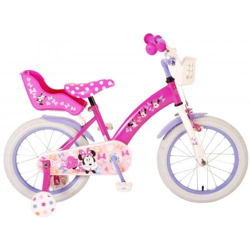 Rower dziecięcy Disney Minnie Cutest Ever - Dziewczęce - 16 cali - Różowy